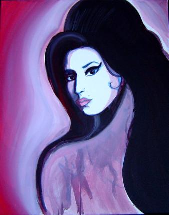 Amy Winehouse, Day of the Dead, Dia de Los Murteos, Expresiones, Expressions, Dolores Gonzalez Haro, Expresiones de Arte, Chicana, Our Lady, Virgen Mary, Mexican Art