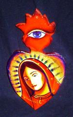 Expresiones, Expressions, Dolores Gonzalez Haro, ChimMaya, Expresiones de Arte, Chicana, Our Lady, Virgen Mary, Mexican Art