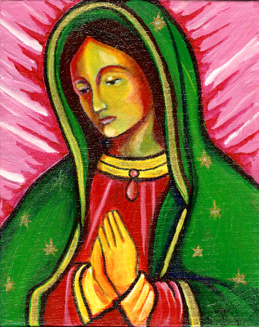 Day of the Dead, Dia de Los Murteos, Expresiones, Expressions, Dolores Gonzalez Haro, Expresiones de Arte, Chicana, Our Lady, Virgen Mary, Mexican Art